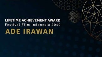 Ade Irawan raih Lifetime Achievement Award FFI 2019