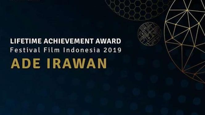 Ade Irawan raih Lifetime Achievement Award FFI 2019