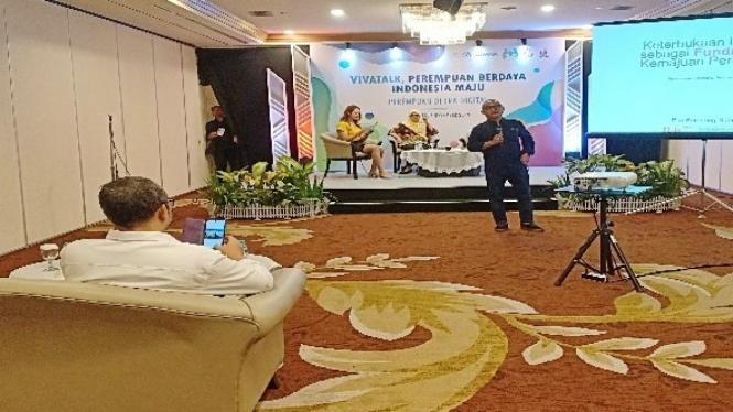 Viva Talks Perempuan  Berdaya Indonesia Maju