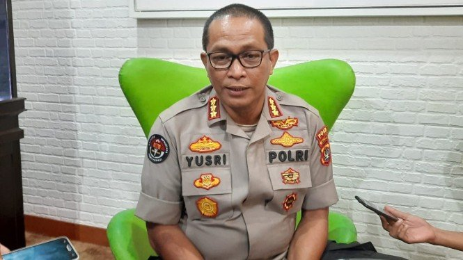 Kabid Humas Polda Metro Jaya, Kombes Pol Yusri Yunus.