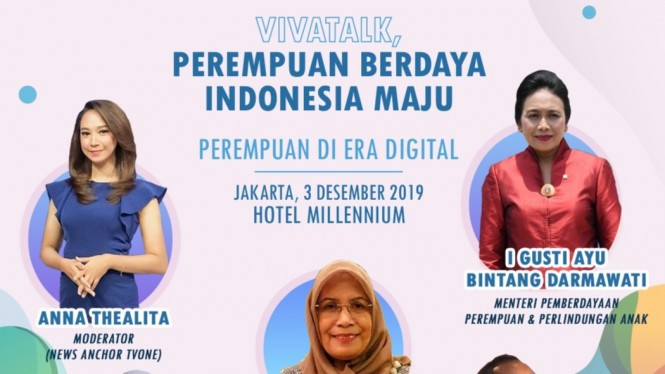 VivaTalk: Perempuan Berdaya, Indonesia Maju.