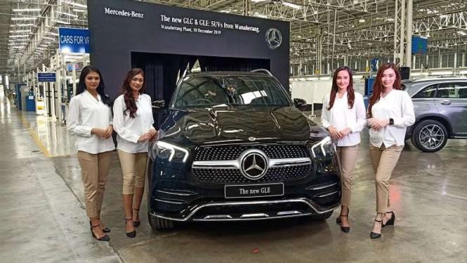 SUV baru Mercedes-Benz GLE yang dirakit secara lokal di Indonesia