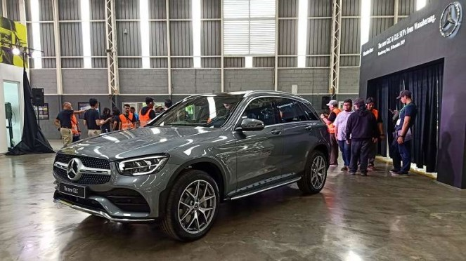 Mercedes-Benz GLC rakitan lokal Indonesia