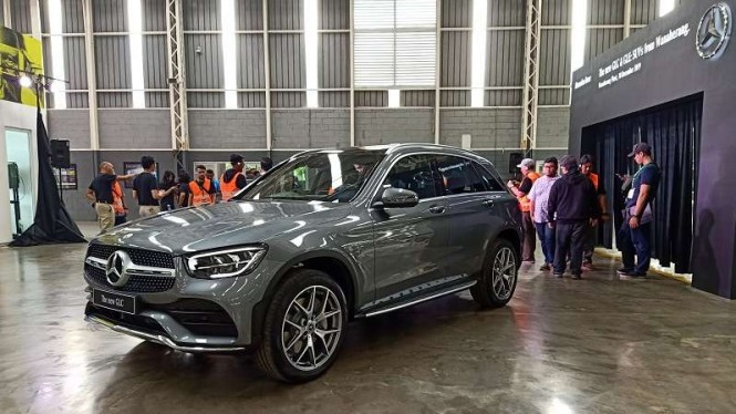Mercedes-Benz GLC rakitan lokal Indonesia