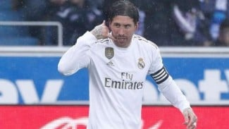 Kapten Real Madrid, Sergio Ramos.