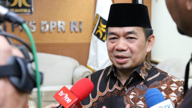 Ketua Fraksi PKS di DPR Jazuli Juwaini