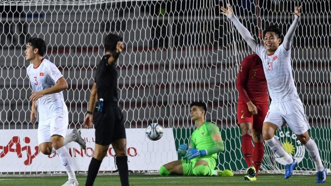 Final Sepakbola Sea Games 2019 Indonesia vs Vietnam