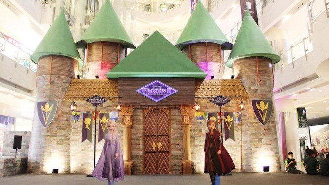 """Experience The World of """"Disney's Frozen 2"""" Mall Central Park."""