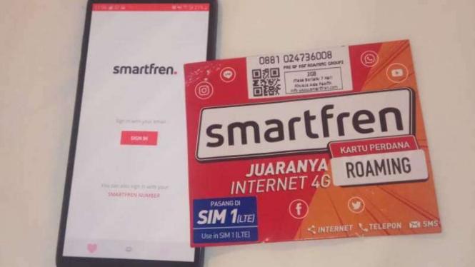 Smartfren roaming
