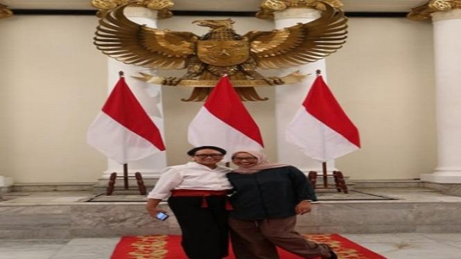 perempuan hebat Indonesia, ibu Retno Marsudirini Menteri Luar Negeri RI
