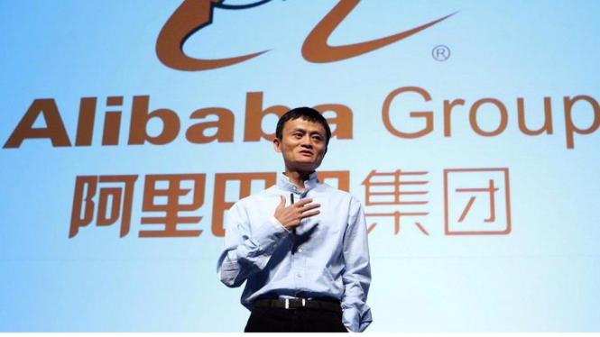 Jack Ma pendiri Alibaba Group.