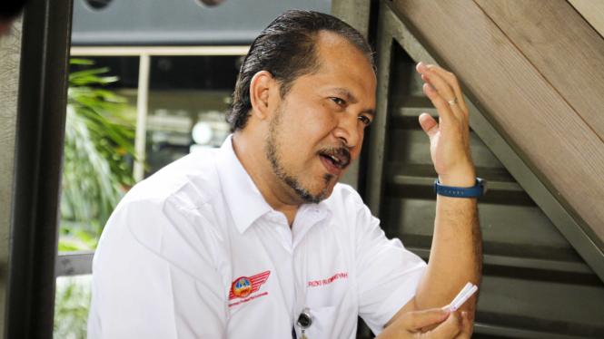 Ketua Perhimpunan Profesi Pilot Indonesia Rizki Budimansyah
