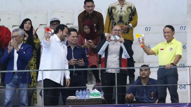 Menpora Zainudin Amali resmi membuka Indonesia Open Aquatic Championships 2019