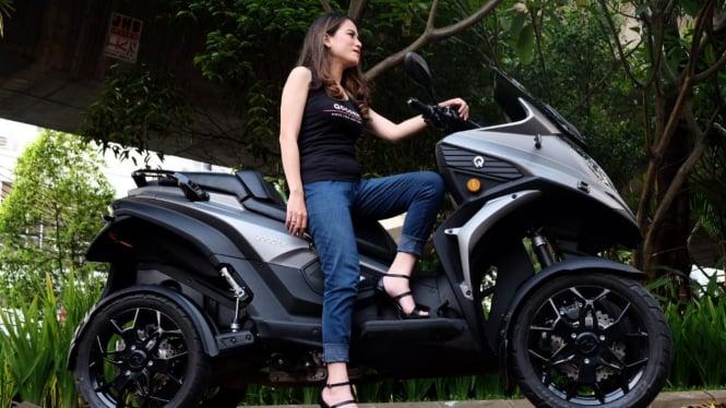 Sepeda motor roda empat, Qooder