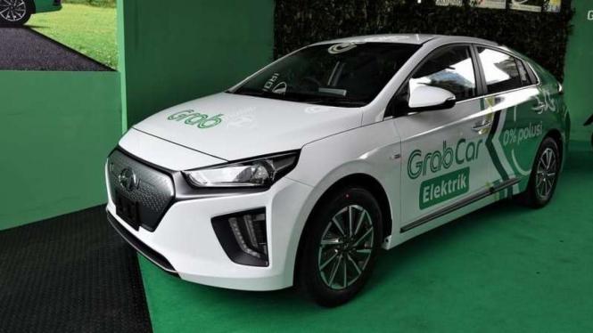 Mobil listrik Hyundai Ioniq jadi armada Grab