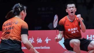 Ganda campuran China, Zheng Si Wei/Huang Ya Qiong.