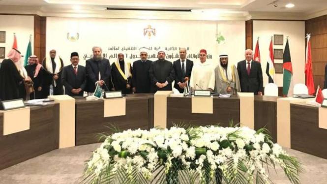Menteri agama berkumpul di Yordania
