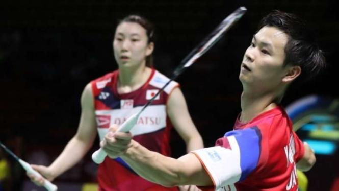 Ganda Campuran Jepang, Yuta Watanabe/Arisa Higashino.