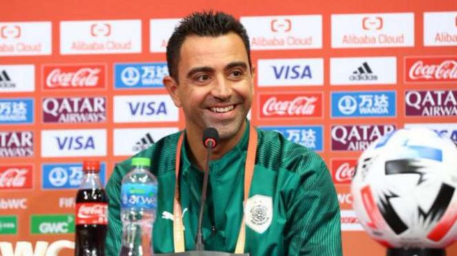 Pelatih Al Sadd, Xavi Hernandez.