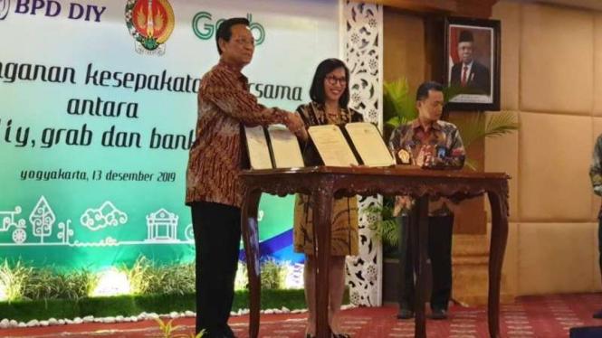 Pemda DIY dan Grab Indonesia