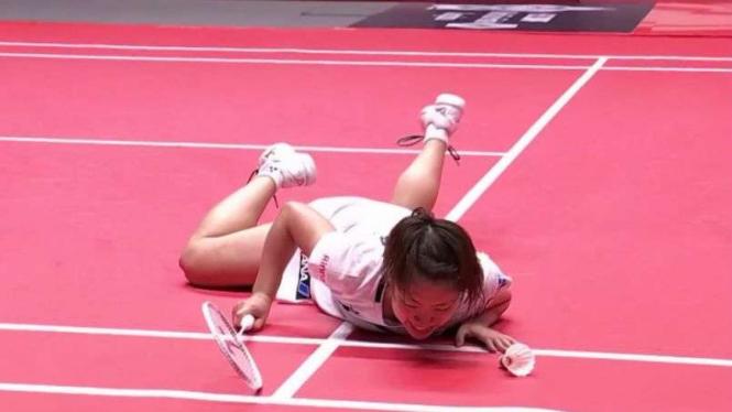 Miris, 2 Gadis Jepang Tersungkur di Arena Merah BWF World Tour Finals