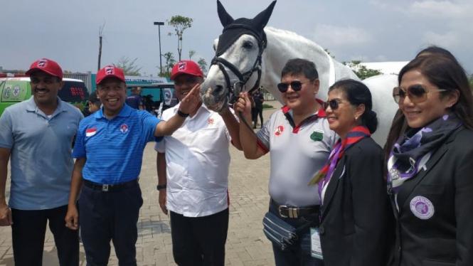 Menpora Zainudin Amali hadiri ajang Equestrian Champions League (ECL).