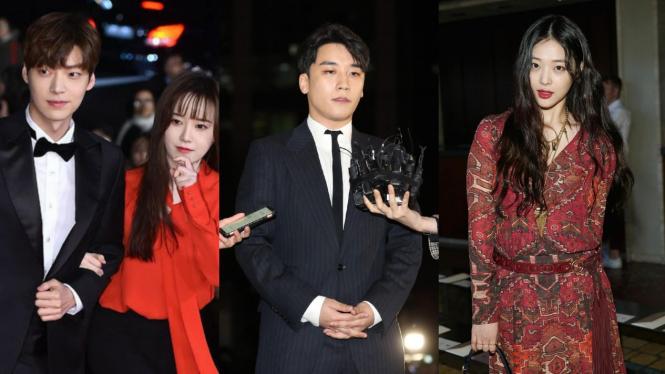 Skandal artis Korea.