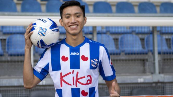 Bek timnas Vietnam, Doan Van Hau gabung klub Eredivisie Belanda, SC Heerenveen