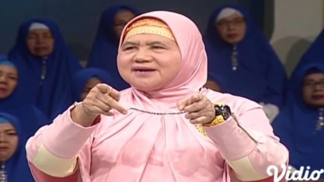 Mamah Dedeh dari tangkapan layar Youtube Indosiar.
