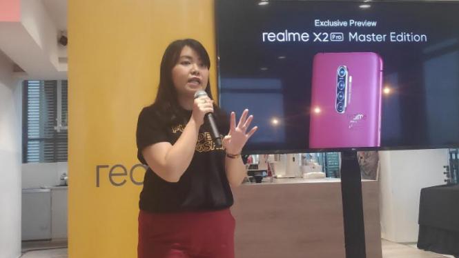 Public Relations Manager Realme Indonesia, Krisva Agnieszca