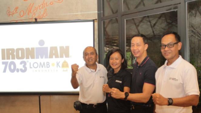 Peluncuran Lomba Triathlon Ironman 70.3 Lombok 2020