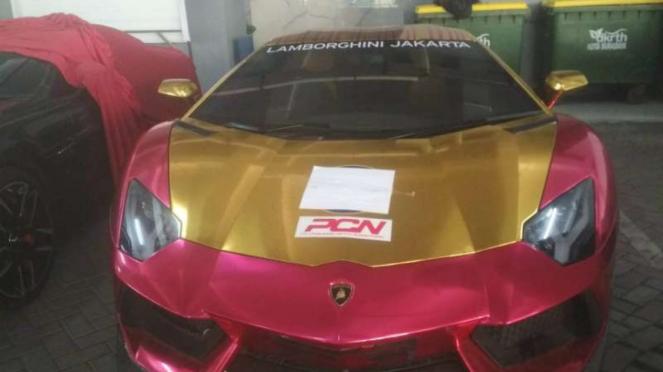Mobil Lamborghini Aventador yang dirumorkan milik Ahmad Sahroni, Presiden Brothe