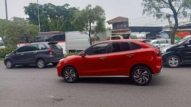 Tampilan Suzuki Baleno Hatchback