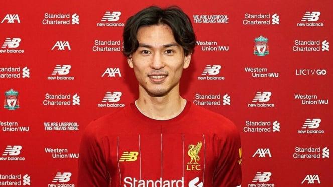 Penggawa anyar Liverpool FC, Takumi Minamino