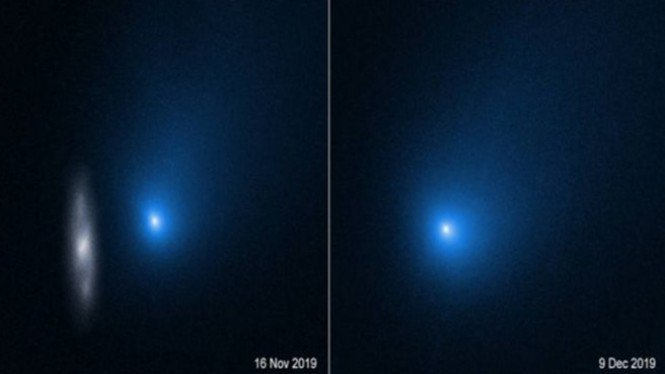Foto Komet Antarbintang