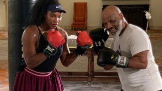Serena Williams berlatih tinju dengan Mike Tyson