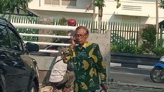 Mantan Hakim Agung Artidjo Alkostar di Yogyakarta