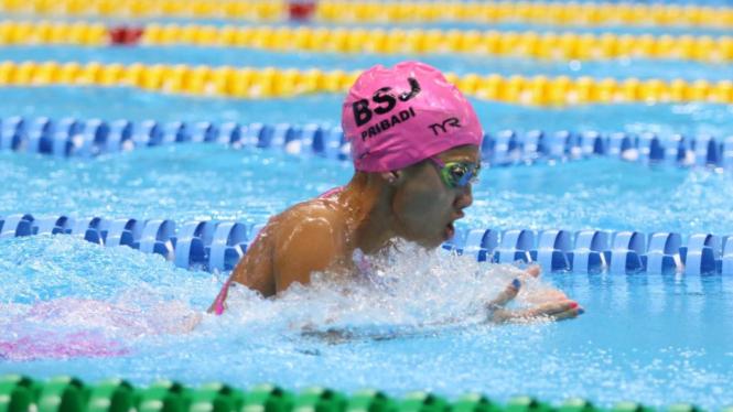 Elysha Chloe Pribadi, perenang terbaik IOAC 2019 kelompok umur 14-15 tahun
