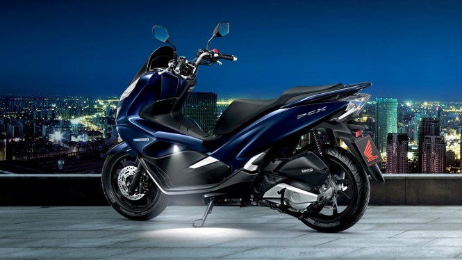 Welcome light di Honda PCX 150 versi Thailand