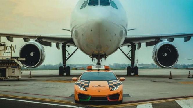 Lamborghini Huracan jadi mobil operasional Bandara