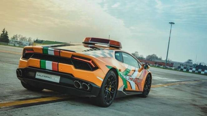 Lamborghini Huracan jadi mobil operasional Bandara di Bologna, Italia