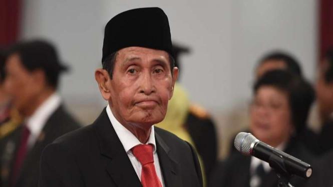 Ketua Dewan Pengawas KPK Tumpak Hatorangan Panggabean