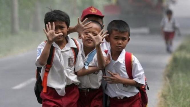 Ilustrasi bocah sekolah (source image: Istimewa)