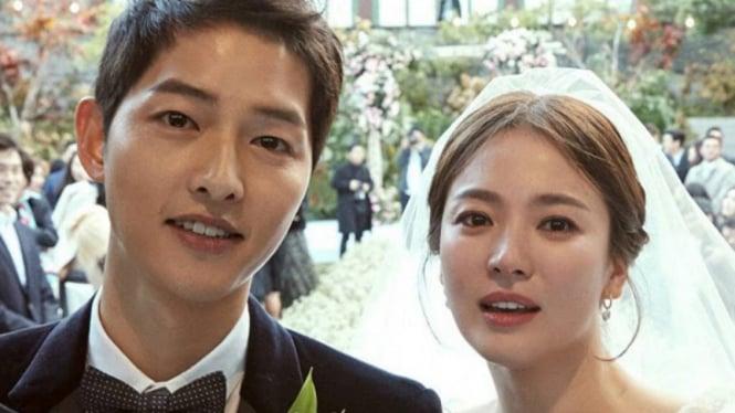 Song Joong Ki dan Song Hye Kyo.