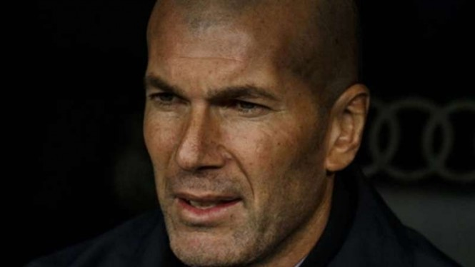 Juru Taktik Real Madrid, Zinedine Zidane.