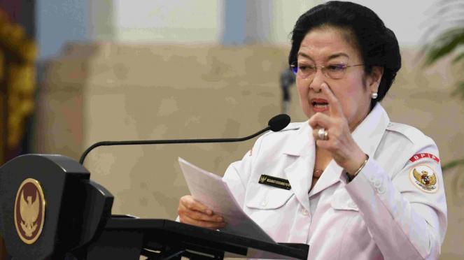 Ketua BPIP Megawati Soekarnoputri
