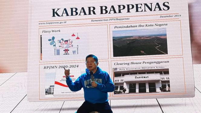 Menteri PPN/Kepala Bappenas, Suharso Monoarfa.