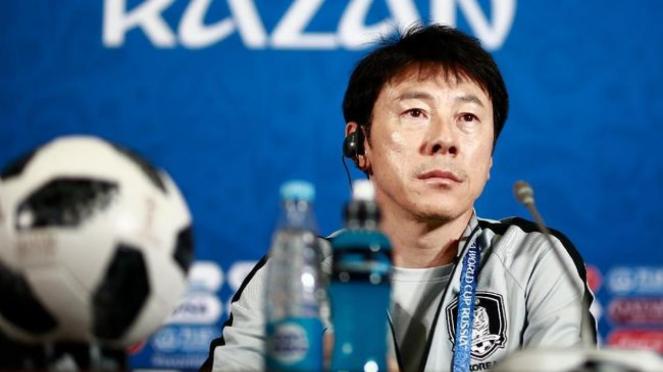 Mantan Pelatih Timnas Korea Selatan di Piala Dunia 2018, Shin Tae Yong