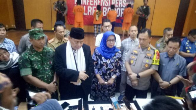 Bupati Kabupaten Bogor Ade Munawaroh Yasin