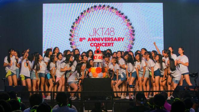 Genap 8 Tahun, JKT48 Gelar Konser Terima Kasih Untuk Fans